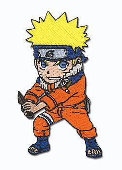 Naruto Patch - Chibi Naruto Battle Pose