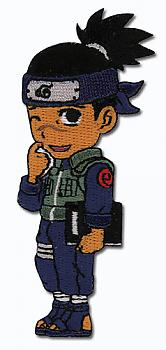 Naruto Patch - Chibi Iruka Book/Scratching