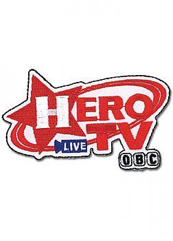 Tiger & Bunny Patch - Hero TV Logo
