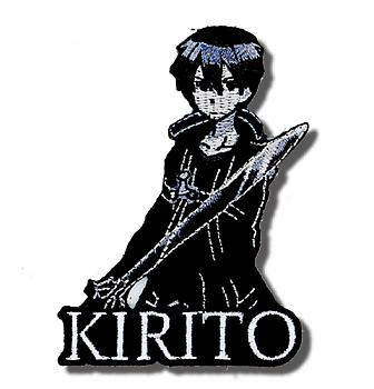 Sword Art Online Patch - Kirito Portrait