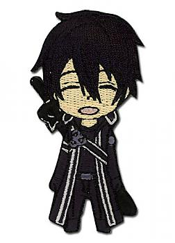 Sword Art Online Patch - Chibi Kirito Happy
