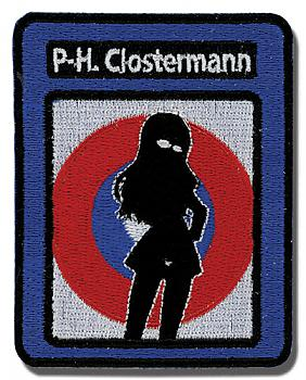 Strike Witches Patch - Perrine Military Silhouette