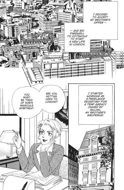 Harlequin Violet Response Manga