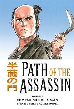 Path of the Assassin Manga Vol.  3: Comparison of a Man