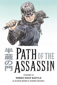 Path of the Assassin Manga Vol. 12: Three Foot Battle