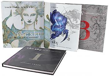 Art Book: The Sky, The Art of Final Fantasy Slipcased Edition [HC]