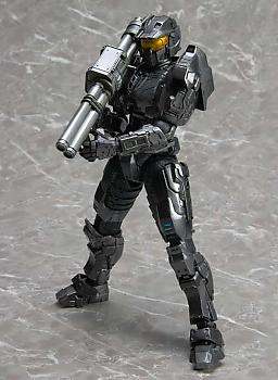 Halo Play Arts Kai Action Figure - Spartan Mark V 'Black' (Combat Evolved)