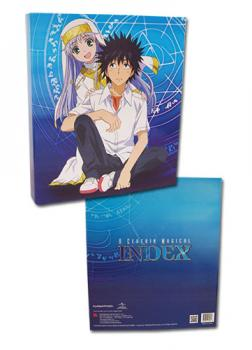 A Certain Magical Index Binder - Index & Toma