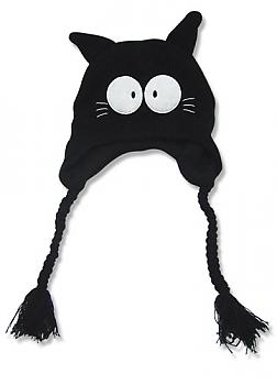 FLCL Beanie - Takkun Black Cat Knitted
