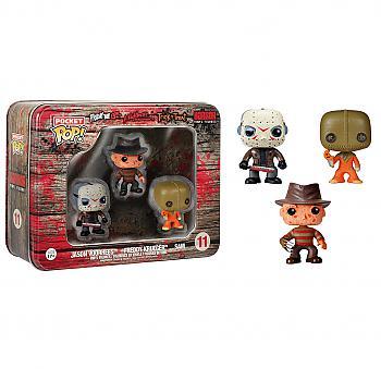 Horror Movies Pocket POP! Vinyl Figure - Freddy, Jason and Sam (Display of 3)