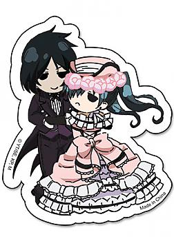 Black Butler Sticker - Sebastian & Ciel Dance