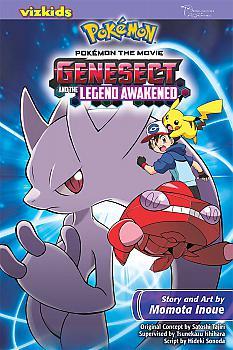 Pokemon: Genesect and the Legend Awakened Manga