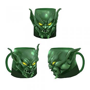 Spiderman Mug - Green Goblin Face