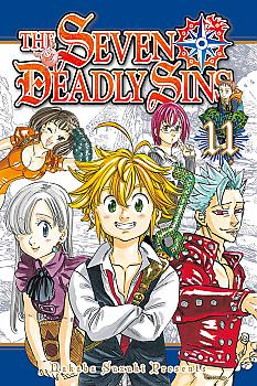 Seven Deadly Sins Manga Vol.  11