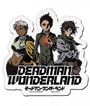 Deadman Wonderland Sticker - Ganta, Nagi & Karako