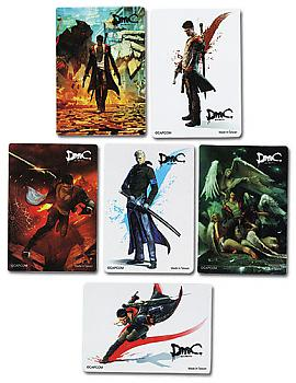 DMC Sticker - Foil  Pack (Devil May Cry)