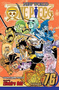One Piece Manga Vol.  76: Repaying the Debt