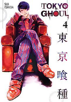 Tokyo Ghoul Manga Vol.   4