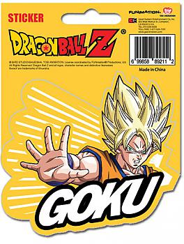 Dragon Ball Z Sticker - SS Goku
