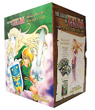 Zelda Manga Vol. 1-10 Box Set