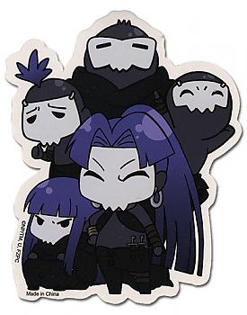 Fate/Zero Sticker - SD Assasin