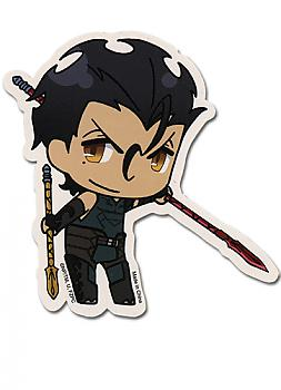 Fate/Zero Sticker - SD Lancer