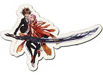 Guilty Crown Sticker - Ouma & Yuzuriha