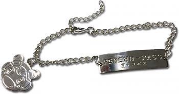 PSYCHO-PASS Bracelet - Logo & Komissa Chan