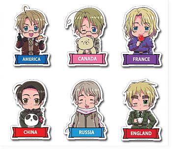 Hetalia Sticker - Assortment