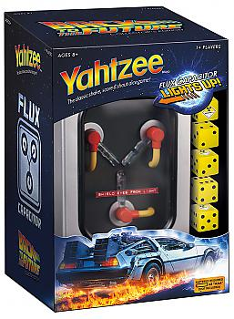 Back to the Future Board Games - Yahtzee Collector's Edition