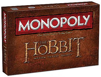 Hobbit Trilogy Board Games - Monopoly Collector's Edition