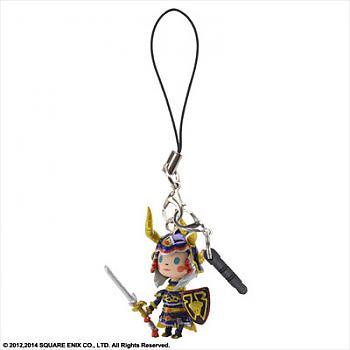 Theatrhythm Final Fantasy Phone Charm - Hero of Light Mascot Strap w/ Earphone Jack