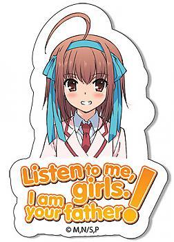 Listen to Me, Girls Sticker - Sora