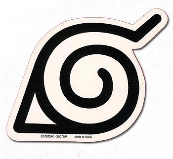 Naruto Shippuden Sticker - Konoha Logo