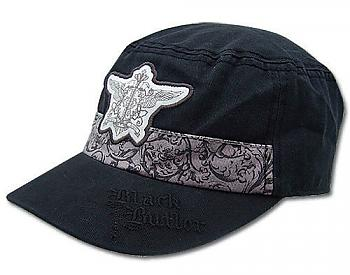 Black Butler Cap - Phantomhive Emblem Cadet