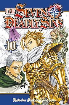 Seven Deadly Sins Manga Vol.  10