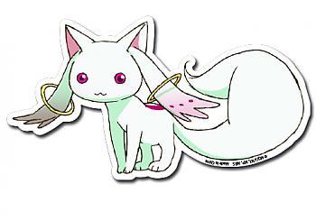 Puella Magi Madoka Magica Sticker - Kyubey
