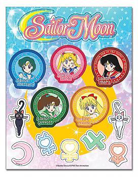 Sailor Moon Sticker - Inner Moon Set