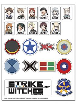 Strike Witches Sticker - Characters and Logos