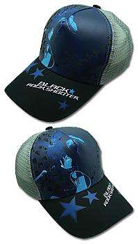 Black Rock Shooter Cap - Black Rock Shooter Blue