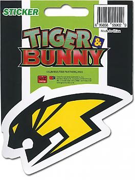 Tiger & Bunny Sticker - Wild Tiger Logo