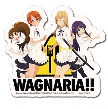 Wagnaria!! Sticker - Group