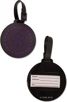 Black Butler Luggage Tags - Pentacle