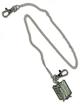Attack on Titan Wallet Chain - Scout Regiment