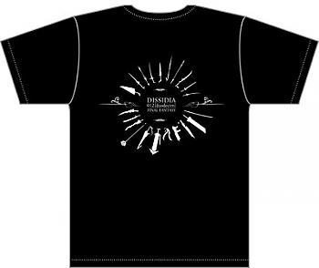 Final Fantasy T-Shirt - Weapons (M / JPN L) (Dissidia 012[duodecim])