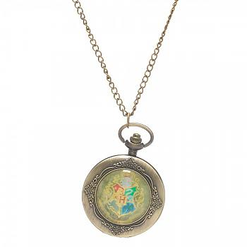 Harry Potter Necklace - Hogwart Pocket Watch