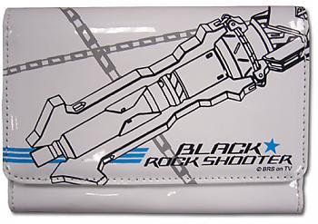 Black Rock Shooter Wallet - Rock Cannon White