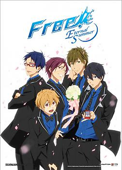 Free! 2 Wall Scroll - Boys In Suits