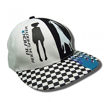 Black Rock Shooter Cap - Two Sides Checkered