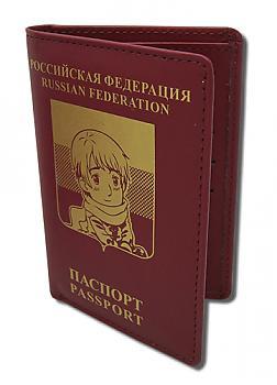 Hetalia Wallet - Russian Passport Style